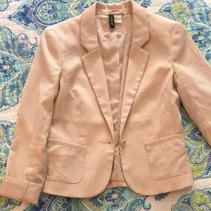 Beige H&M Blazer Size 6